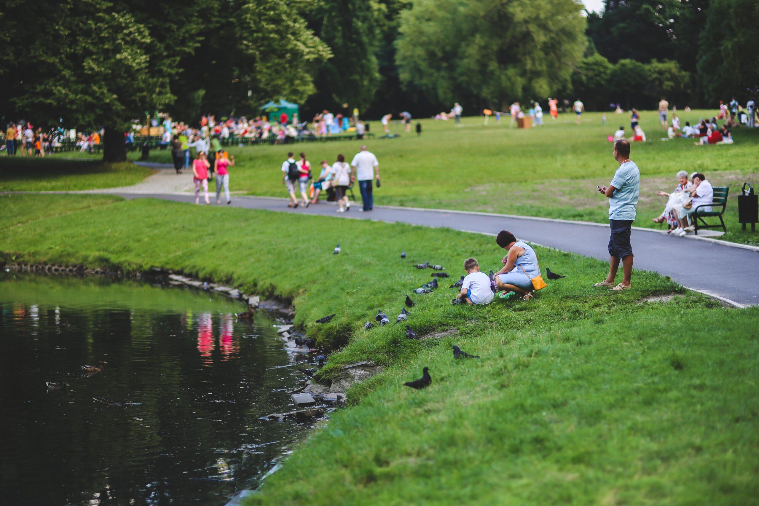 Openbare parken voor onze collectieve volksgezondheid